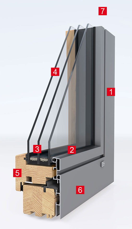 Holz aluminium fenster for Holz aluminium fenster